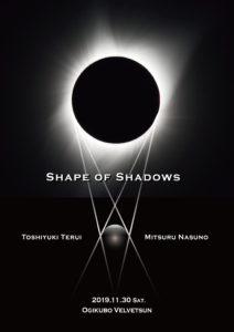 照井利幸/ナスノミツル「Shape of Shadows」 @ ベルベットサン(荻窪、東京)